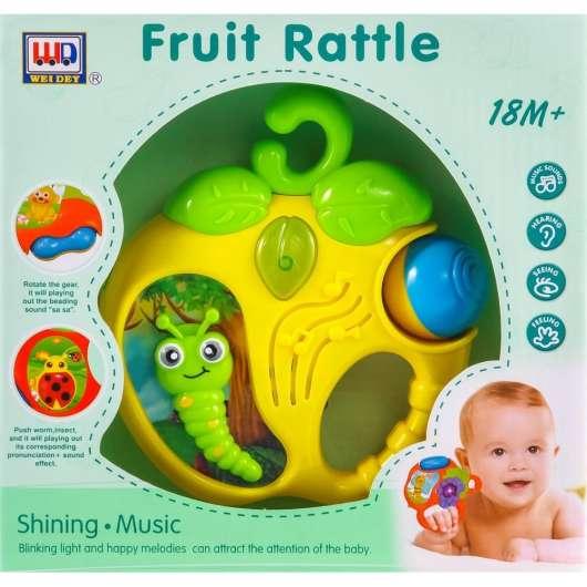 Zabawka muzyczna jabłko