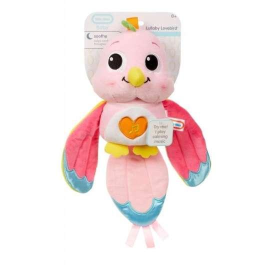 Kolysanka - papużki nierozłączki różowa