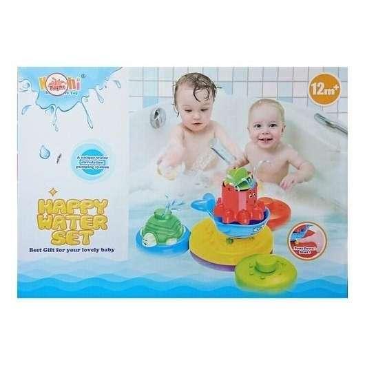 Zabawki do kąpieli z fontanną