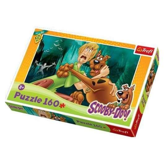 Puzzle 160 Scooby-Doo Ratuj się kto może TREFL