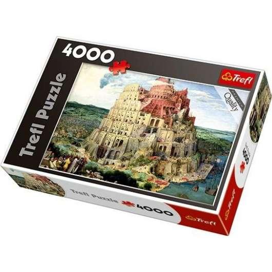 Puzzle 4000 Wieża Babel TREFL