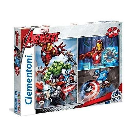 Puzzle 3x48 Avengers