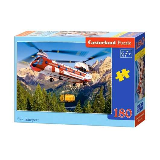 Puzzle 180 Sky transport CASTOR