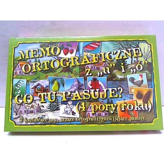 Memo ortograficzne Ó i U SAMO-POL