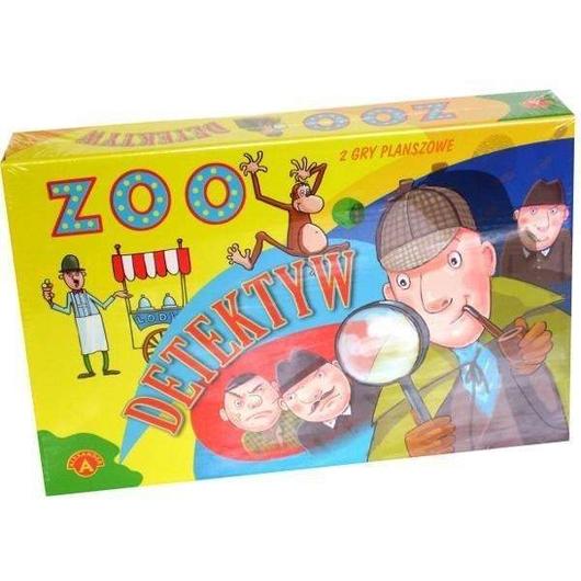 Gra - Zoo. Detektyw ALEX