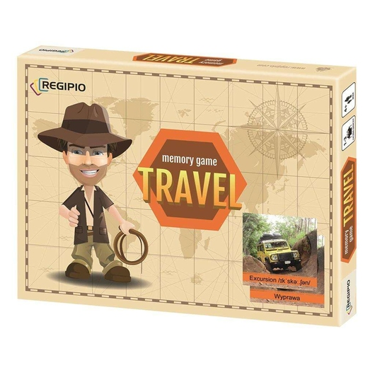 Memory Game - Travel (w pudełku) REGIPIO