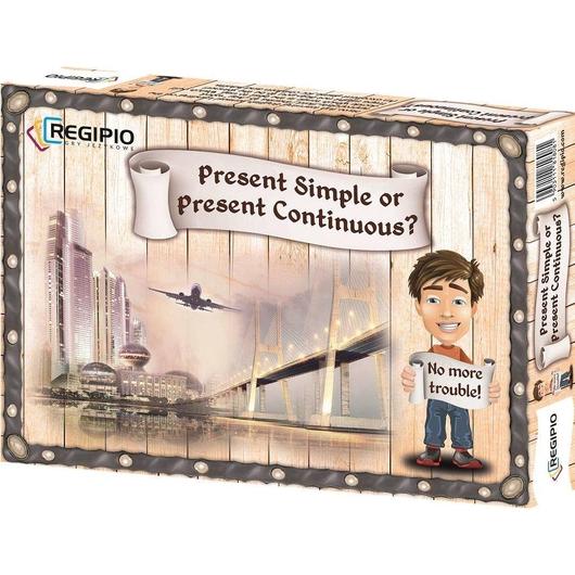Present Simple or Present Continuous REGIPIO