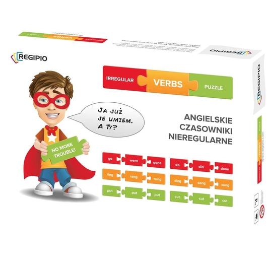Ireegular verbs puzzle REGIPIO