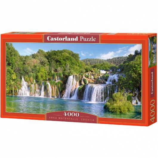 CASTOR 4000 EL. Krka Waterfalls, Croatia