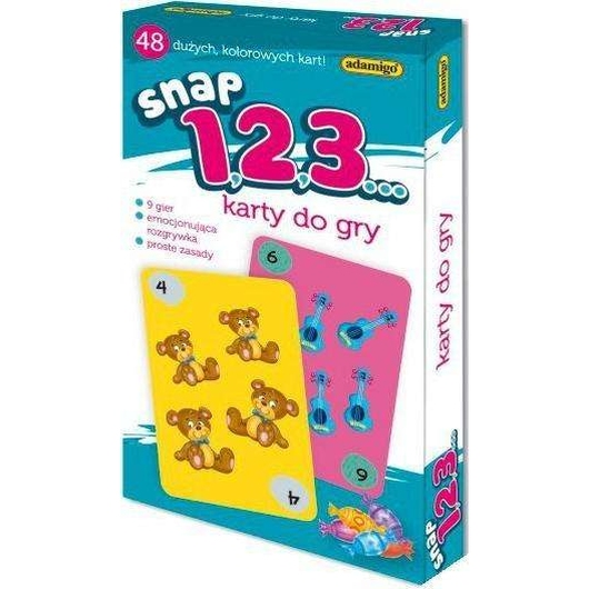 Karty Snap - 1,2,3