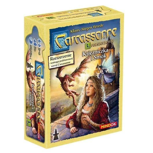 Carcassonne 3 - Księżniczka i smok Edycja 2