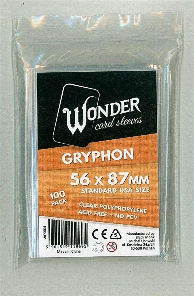 Koszuki Wonder Sleeves Standard 56x87 (100szt)