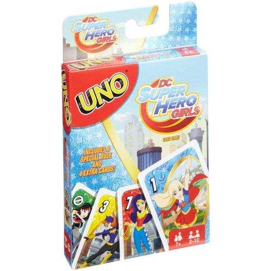 Uno Super Hero Girls