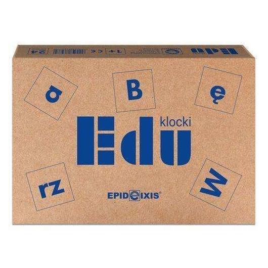 Klocki EDU z literami