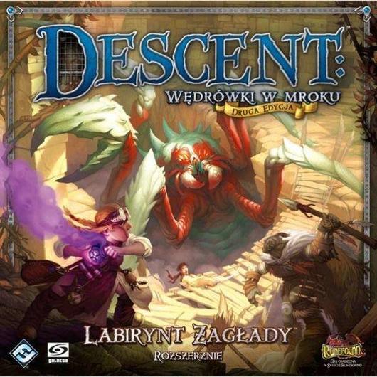 Descent: Wędrówki w mroku Labirynt zagłady GALAKTA