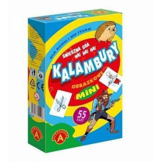 Kalambury obrazkowe mini ALEX
