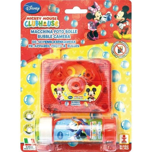 Aparat fotograficzny z bańkami Mickey & Minnie