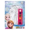 Plakaty z farbkami Frozen