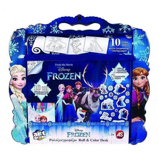 Rolka do malowania z akcesoriami Frozen