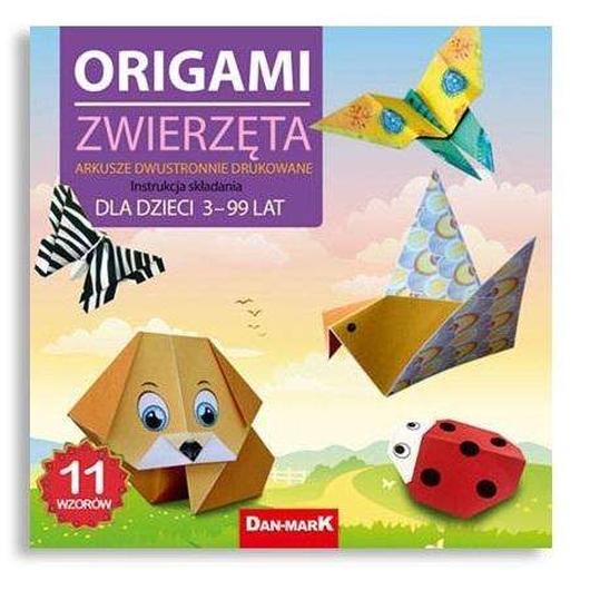 Origami 21x21 Zwierzęta