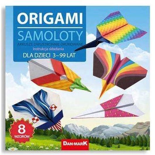 Origami 21x21 Samoloty