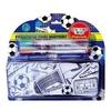 Piórnik Football + 4 markery STnux