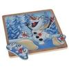 Puzzle z uchwytami Kraina Lodu Olaf