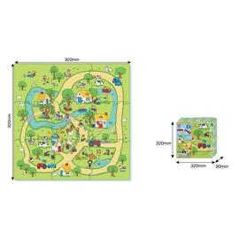 Mata z puzzli - Farma