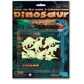 Glow in the dark - Dinozaury 3D 4M