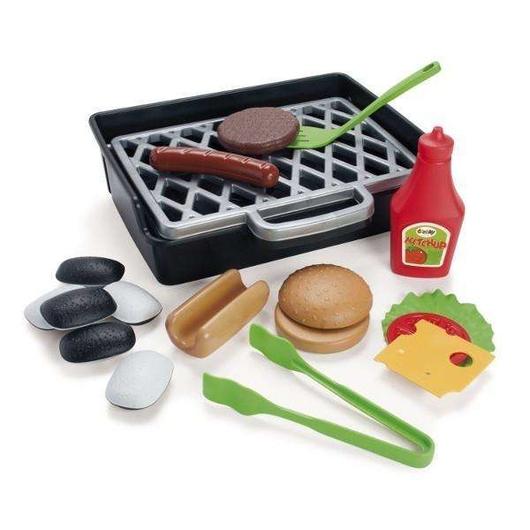 Zestaw do grillowania hotdogów i burgerów