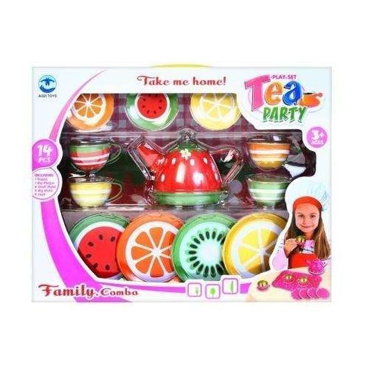 Naczynia kuchenne owoce 14el