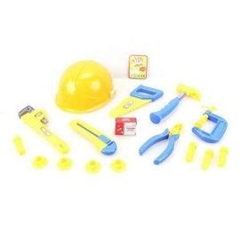 Kask z narzędziami