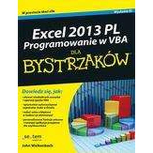 Excel 2013 PL. Programowanie w VBA dla bystrzaków