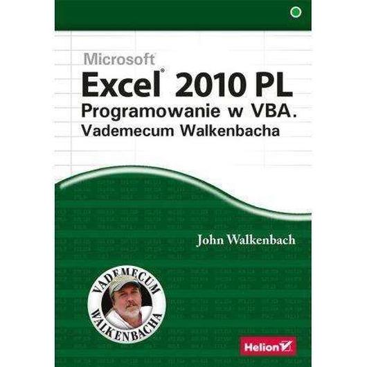 Excel 2010 PL Programowanie w VBA Vademecum...
