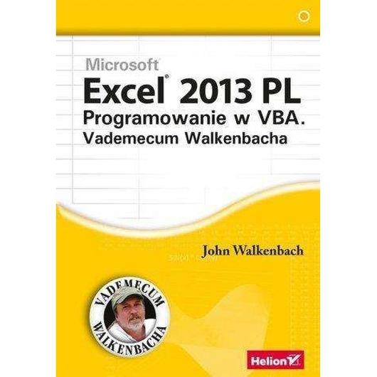 Excel 2013 PL Programowanie w VBA Vademecum...