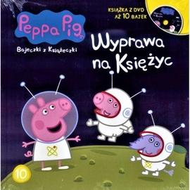 Świnka Peppa. Bajeczki z... Wyprawa na Księżyc+DVD