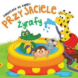 Kąpielowa z zakładkami - Przyjaciele Żyrafy