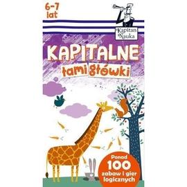 Kapitan Nauka. Kapitalne łamigłówki (6-7 lat)