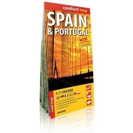 Comfort!map Hiszpania i Portugalia mapa