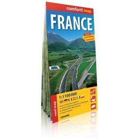 Comfort!map Francja (France) 1:1 100 000 mapa