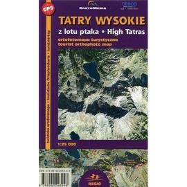 Tatry wysokie z lotu ptaka 1:25 000 mapa