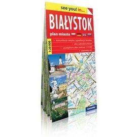 Euromapa Białystok. plan miasta 1:20 000