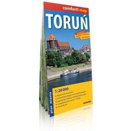 Comfort!map Toruń 1:20 000 plan miasta