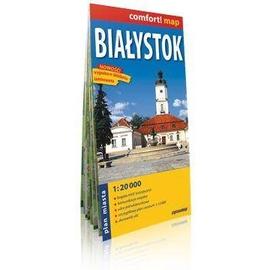 Comfort!map Białystok 1:20 000 plan miasta