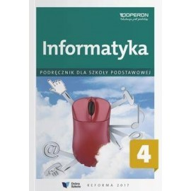 Informatyka SP 4 Podręcznik OPERON
