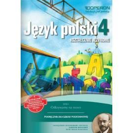 J.Polski SP 4 Odkrywamy.. K. Językowe Podr. OPERON