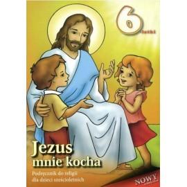 Religia 6-latki podręcznik Jezus mnie kocha WDS