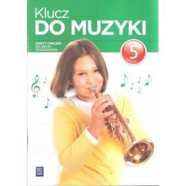 Muzyka SP Klucz do muzyki 5 ćw w.2016 WSIP