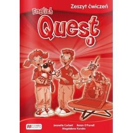 English Quest 1 WB do wersji wieloletn. MACMILLAN