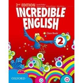 Incredible English 2E 2 CB OXFORD